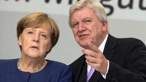 Bouffier Merkel