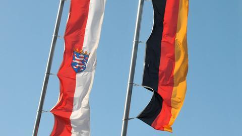 Fahnen Hessen Deutschland