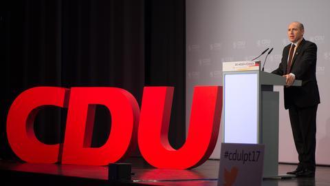CDU-Generalsekretär Manfred Pentz