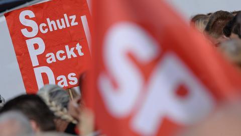 SPD-Wahlkampf in Kassel