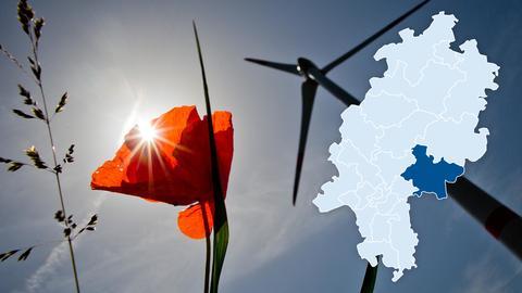 Bei dem Thema Windräder laufen einige Bürgerinitiativen im ländlich geprägten Landkreis sturm.