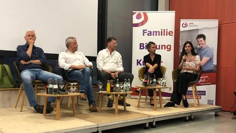 Landratskandidaten Marburg-Biedenkopf auf der Lebenshilfe-Wahlarena