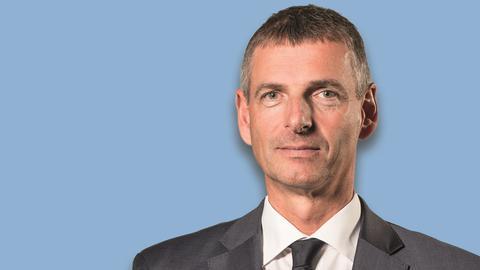 Frank Kilian, Kandidat für die Landratswahlen im Rheingau-Taunus-Kreis