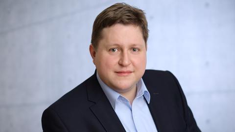 Tobias Kruger, Bürgermeisterkandidat für Rödermark (Offenbach)