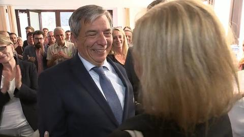 Gert-Uwe Mende wird neuer Oberbürgermeister von Wiesbaden