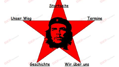 Che Guevara im roten Stern