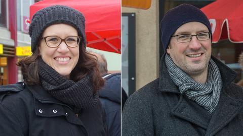 Mirjam Fuhrmann und Joachim Fieß