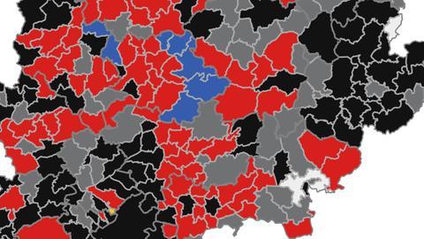 Kommunalwahlen Karte aktuell