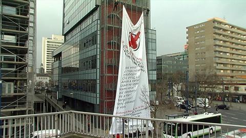 Offenbach Plakataktion