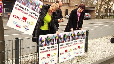 Wahlplakat Gießen