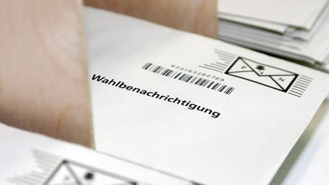 Wahlbenachrichtigung Kommunalwahlen