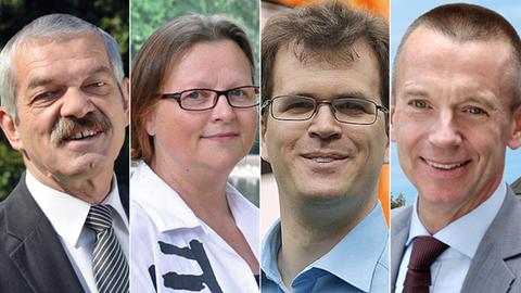 Kandidaten zur Landratswahl Groß-Gerau