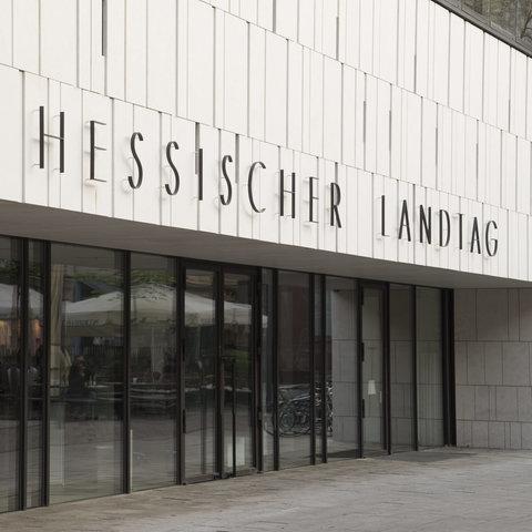 Hessischer Landtag Fassade
