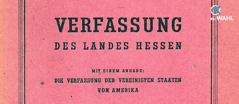 Die hessische Verfassung