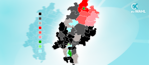 Karte Wahlkreisanalyse