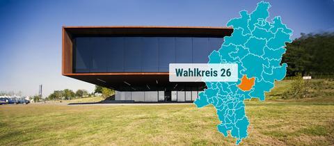 """Das Museum """"Keltenwelt"""" bei Glauburg."""