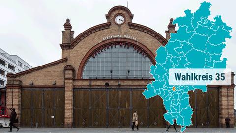 Das Bockenheimer Depot in Frankfurt.