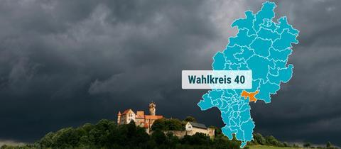 Die Ronneburg in der Region Main-Kinzig.