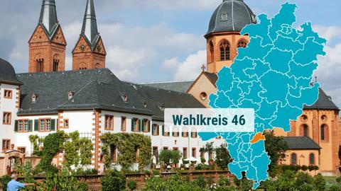 Die Benediktinerabtei in Seligenstadt.