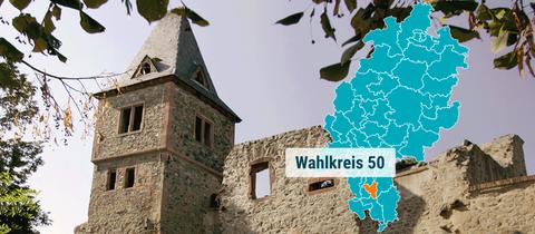 Burg Frankenstein bei Mühltal.