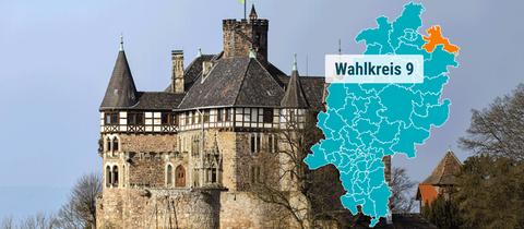 Das Schloss in Berlepsch.