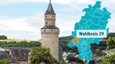 Der Hexenturm in Idstein.