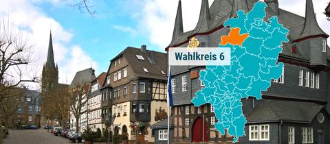 Das Rathaus in Frankenberg.