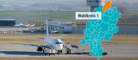Der Kassel Airport in Calden.