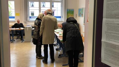 Wähler im Nordend Frankfurt