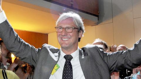Jochen Partsch bei seinem Wahlsieg 2011