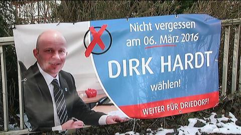 Wahlplakat Dirk Hardt