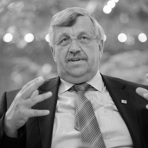 Walter Lübcke starb im Alter von 65 Jahren.