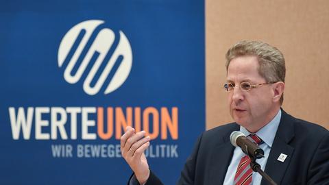 Hans-Georg Maßen bei der Wertunion