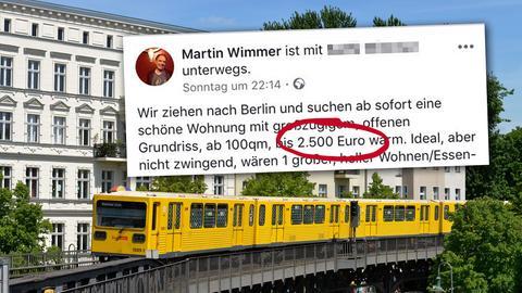 Berlin - Wohnungsanzeige Martin Wimmer