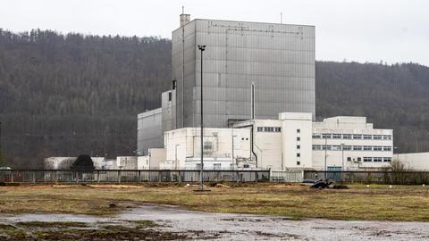 Das ehemalige Atomkraftwerk Würgassen