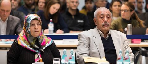 Die Eltern von Halit Yozgat vor dem NSU-Untersuchungsausschuss