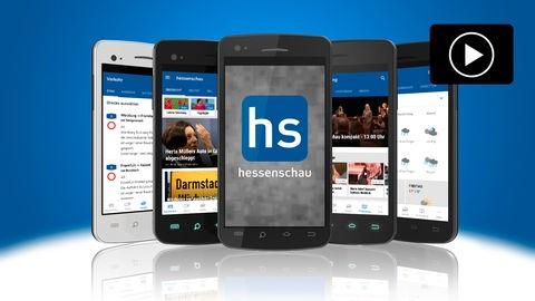 Screenshots der hessenschau-App