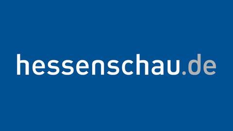 hessenschau.de Logo blauer Hintergrund
