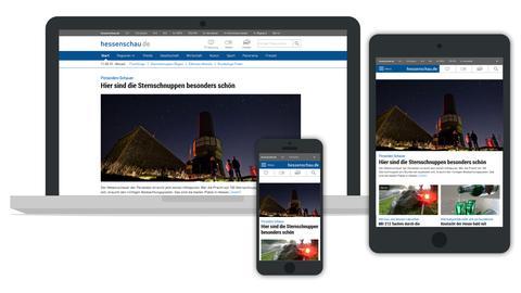Screenshot hessenschau.de