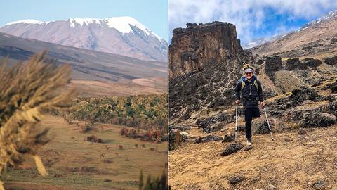 Der Kilimandscharo ist der höchste Berg Afrikas. Tom Belz bezwang ihn mit nur einem Bein.