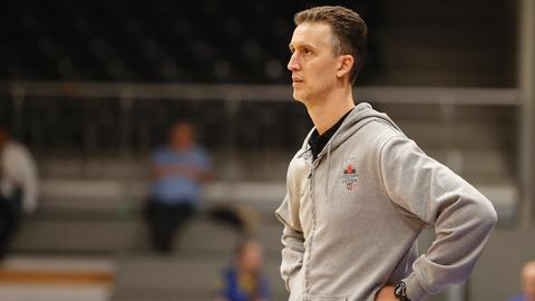 Gießen-46ers-Coach Pete Strobl