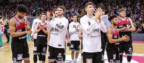 Die Gießen 46ers bedanken sich bei den Fans