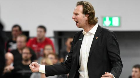 46ers-Coach Ingo Freyer konnte mit seinem Team zufrieden sein.