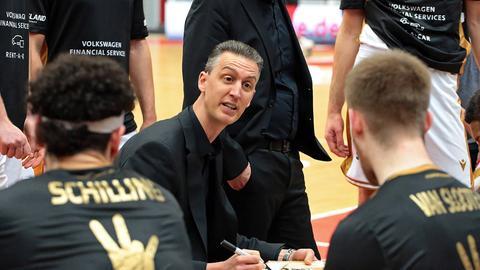 Pete Stroble von den Gießen 46ers