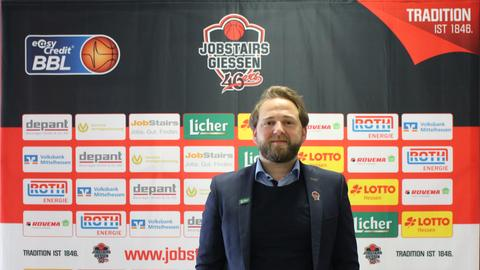 Sebastian Schmidt bei seiner Präsentation