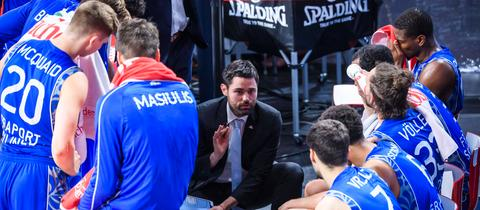 Skyliners-Headcoach Sebastian Gleim