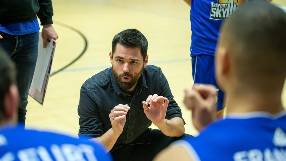 Sebastian Gleim wird Trainer bei den Skyliners
