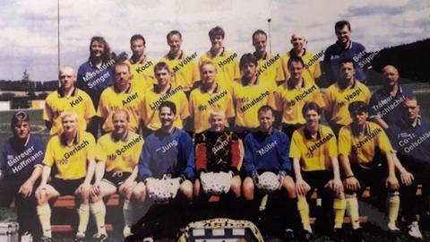 Altes Mannschaftsfoto des SV Asbach