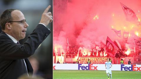 Innenminister Beuth und zündelnde Eintracht-Fans