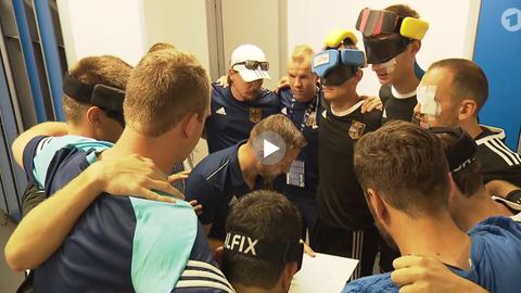 Die deutschen Blindenfußball-Mannschaft